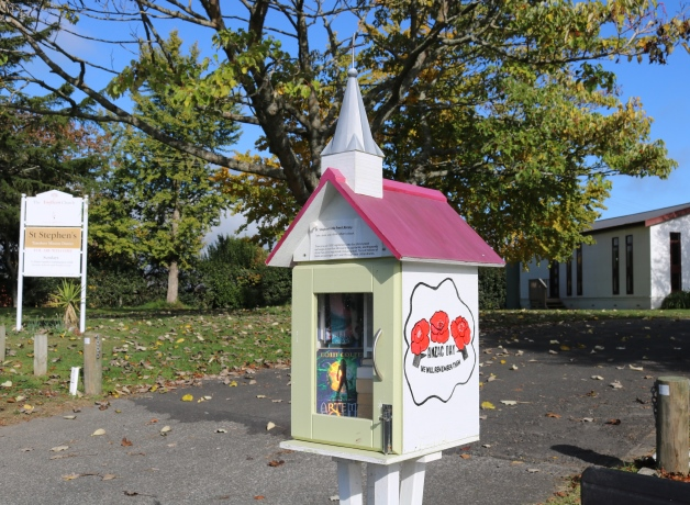 One of the little libraries.