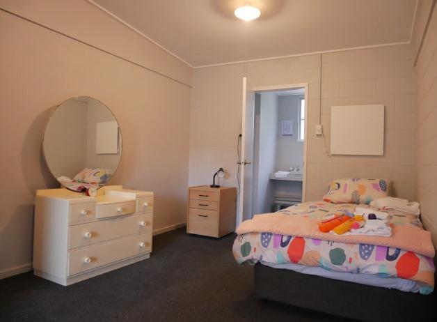 One of the rooms at He Kete Oranga o te Mana Wahine