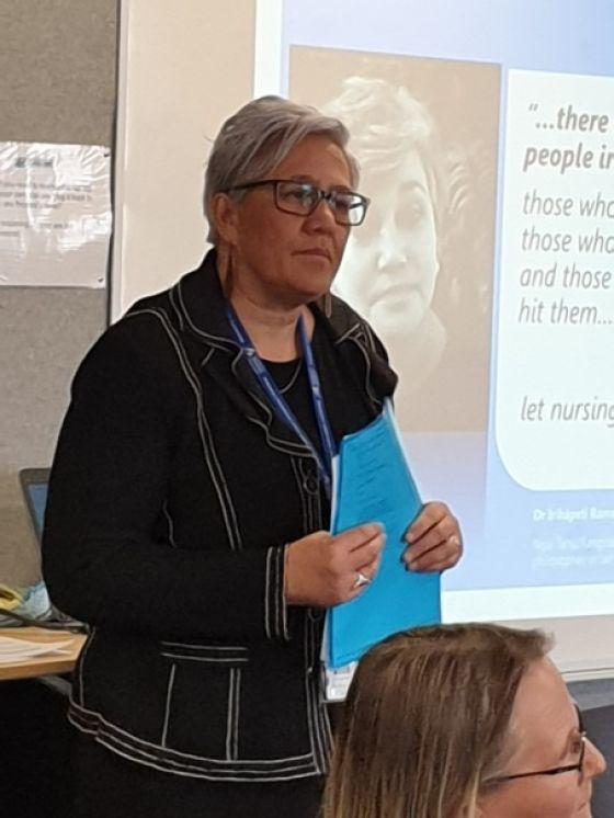 Ministry of Health Chief Nurse Margareth Broodkoorn