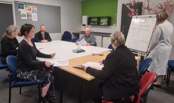 Kāpiti Community Corrections staff learn te reo Māori.