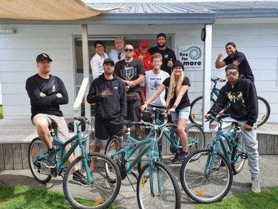 Refurbished bikes for Tauranga surfing programme image