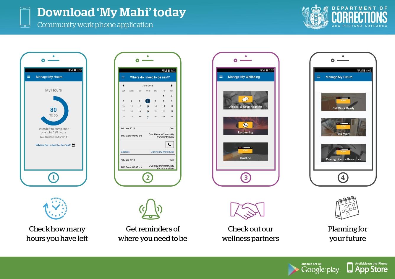 Download 'My Mahi' today